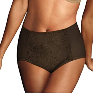 Flexees by Maidenform Ultra Firm Control Brief, Style 83062 (2X-Large, Brown)