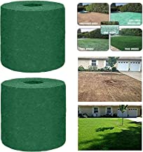 3pcs Biodegradable Grass Mat Roll Blanket Garden Picnic Lawn without Seeds