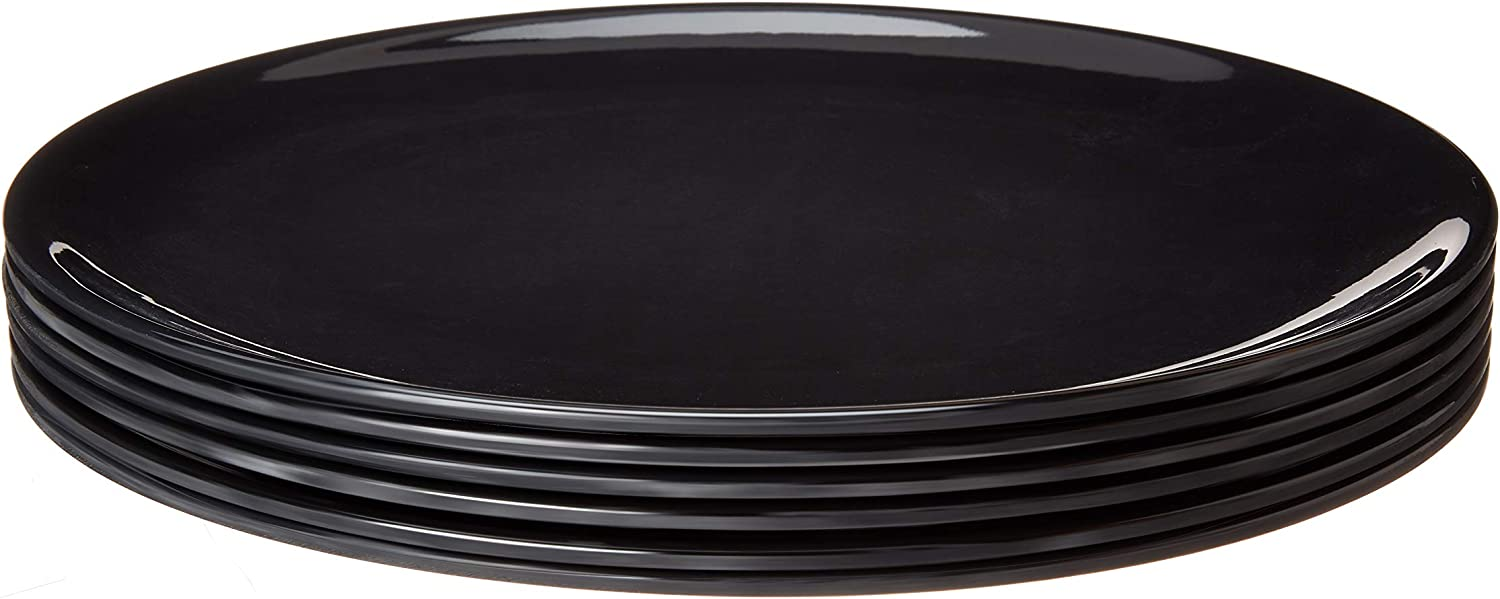 Bayview Essentials- Chip-Resistant Large Melamine Round Daily Di New popularity Max 89% OFF