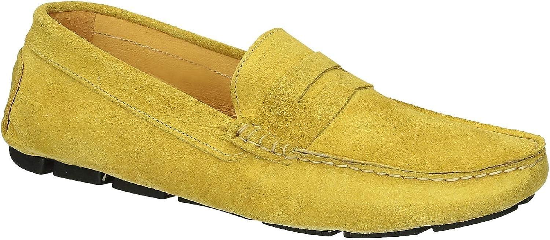 gul mocka läder Drive Mockasines Mockasines Mockasines Skor för män  letar efter försäljningsagent
