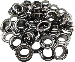 Trimming Shop IJzeren oogjes Grommets met ringen voor zwembadhoezen, lederwerk, dekzeil, vinyl banners, yogamat, kunst en ...