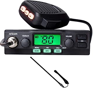 ORICOM UHF028 5 WATT 80 CHANNEL UHF RADIO+CH5T BLACK 5DB UHF ANTENNA 720MM