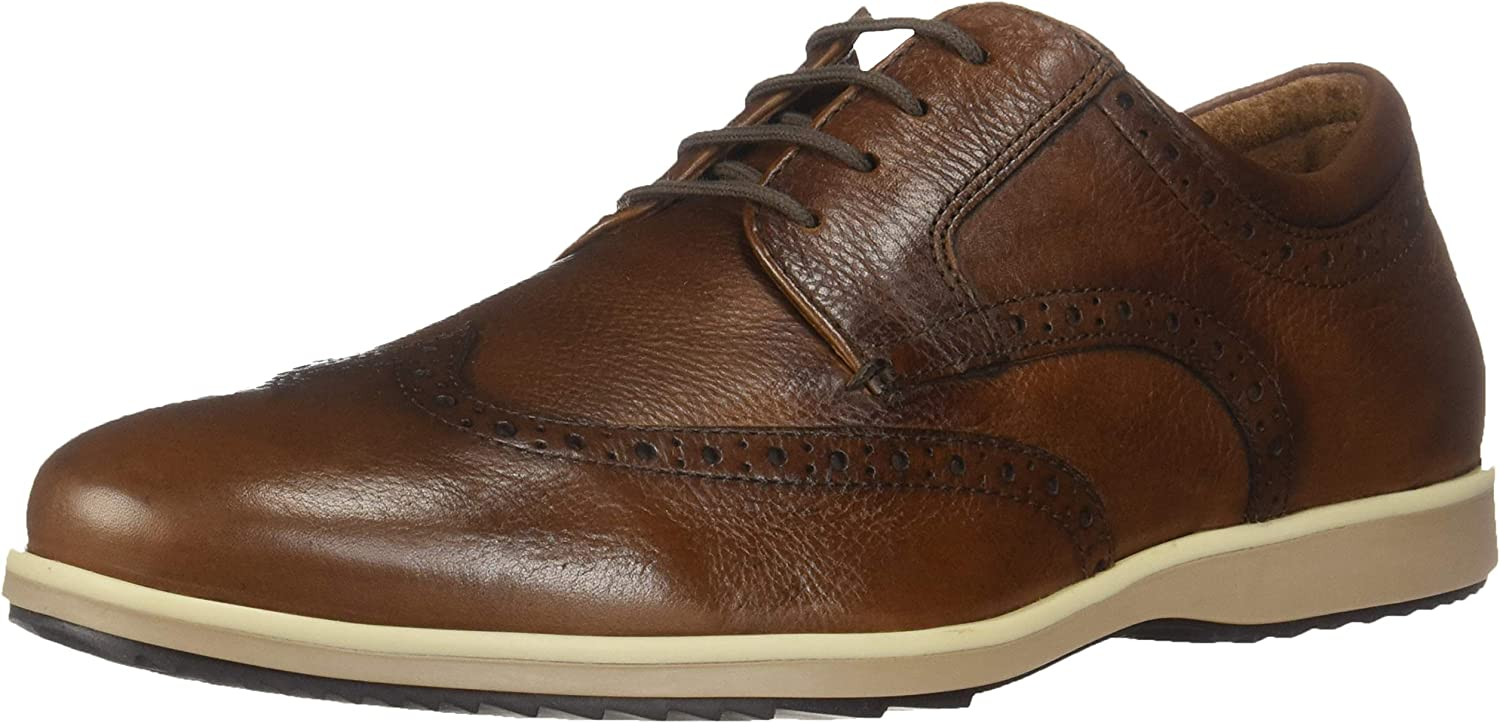 Geox Mens Blainey A Leather Oxford Oxford