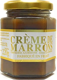 Artisanal Chestnut Cream - Creme de Marrons, Jar 220g
