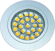 Mini Inbouw LED Spot Dimbaar Touch Dimmer Aan Uit DC 12V 2,5W Rond Gat 60mm