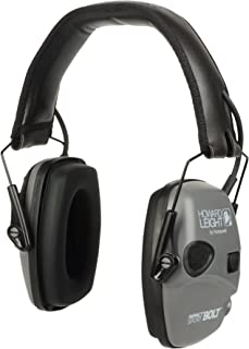 Howard Leight Impact Sport Bolt Digital Electronic Shooting Earmuff, Gray