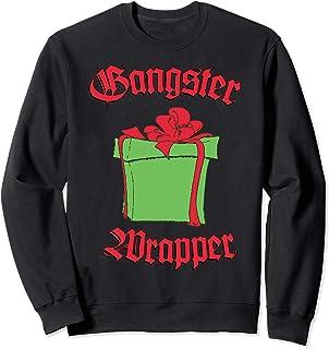 Gangster Wrapper Christmas Present Sweatshirt