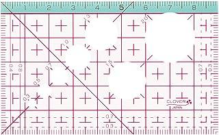 クロバー(Clover) カード型定規 5.5×9cm 厚み1mm CL25-042