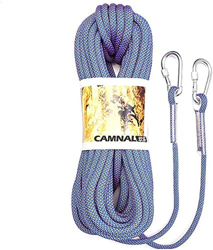 LXYFMS Corde de Levage Corde de Camping Escalade Escalade Conduite sur Route plongée Couleur résistant à l'usure Taille en Option Corde d'alpinisme (Couleur   D, Taille   10.5mm 15m)