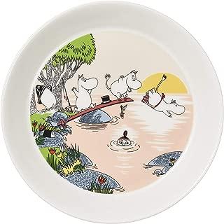 Moomin Plate Evening Swim Summer 2019 19cm Arabia