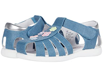 Rachel Kids Nina (Toddler) (Denim/Multi) Girl