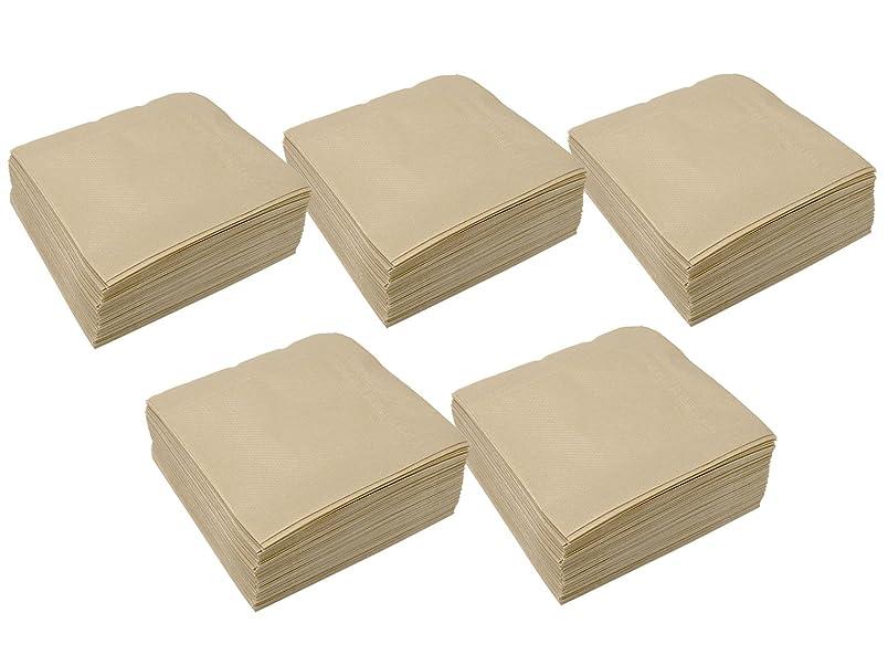 どこにも敬なトランスペアレント大黒工業 4折 ナプキン 未晒 25×25cm 500枚入