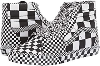 Mens U SK8 HI Checkerboard Black White Size 10.5
