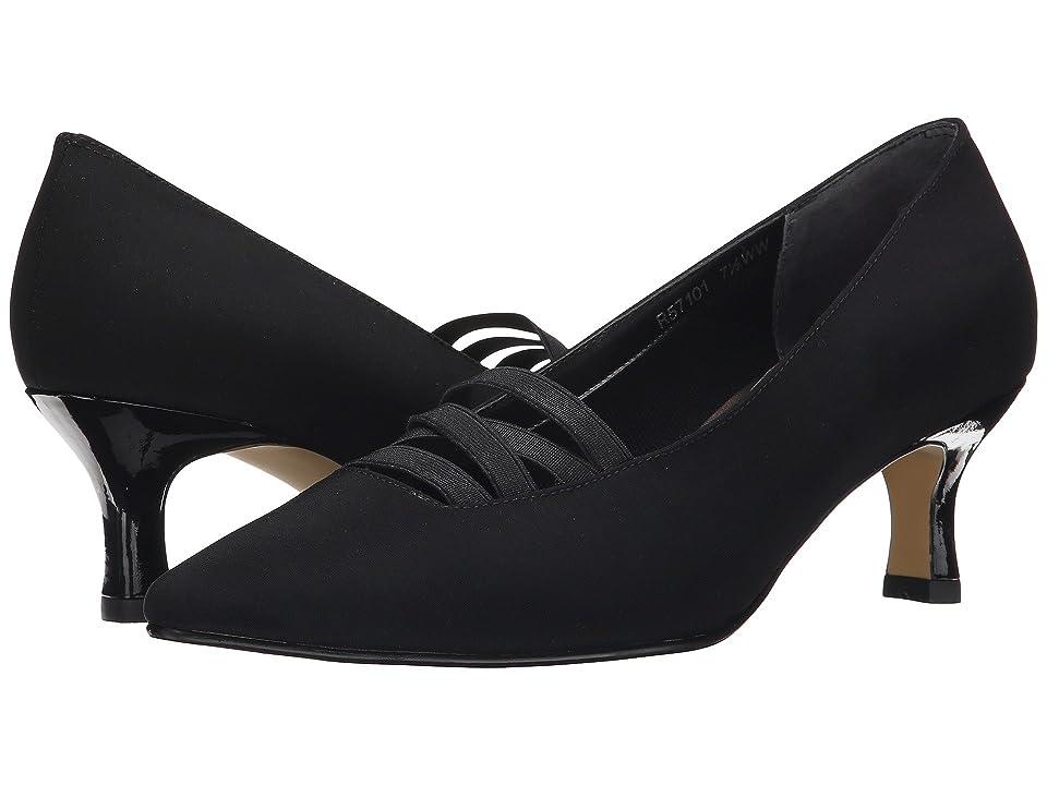Edwardian Ladies Clothing – 1900, 1910s, Titanic Era Walking Cradles Pamela Black MicroPatentGore Womens  Shoes $109.95 AT vintagedancer.com