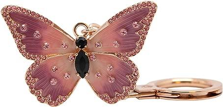 Kate Spade Metal Butterfly Keychain Keyring KeyFob