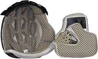 Vega Mach 2.0 Jr Replacement Full Face Helmet Extreme Comfort System Liner Gray, Small