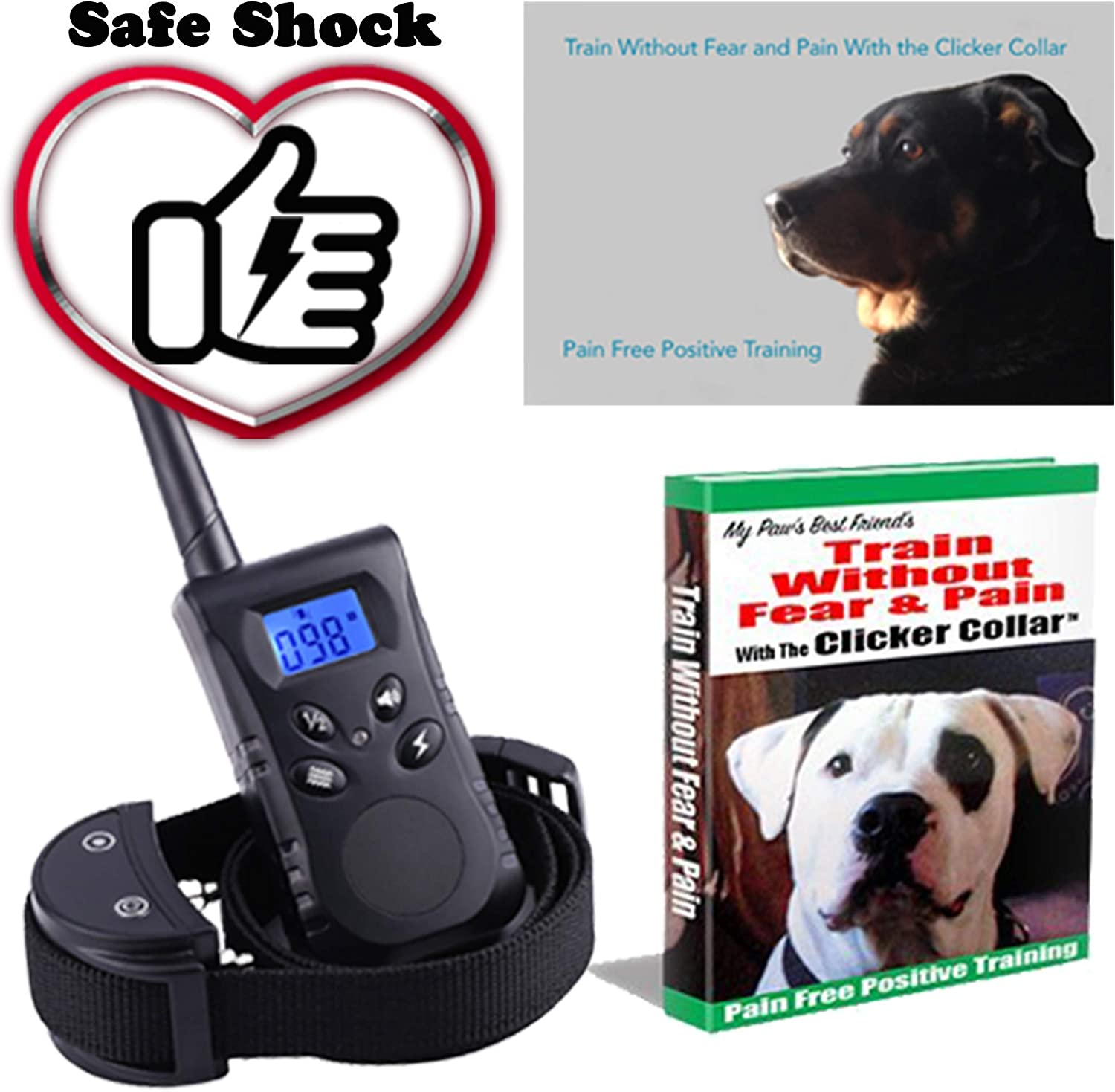 Dog Training Collar Bundle.  1 Rated. How to Train Your Dog Lessons, How to Train a Dog Ebook, Dog Shock Collar Owners Manual and 24 7 365 Phone Support on How to Train Your Dog. If you Dont Like It Ill Buy It Back From You