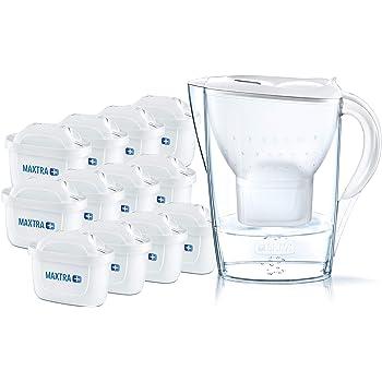 Hellblau Wasserfilterkanne 2 MAXTRA BRITA 106386 MARELLA inkl
