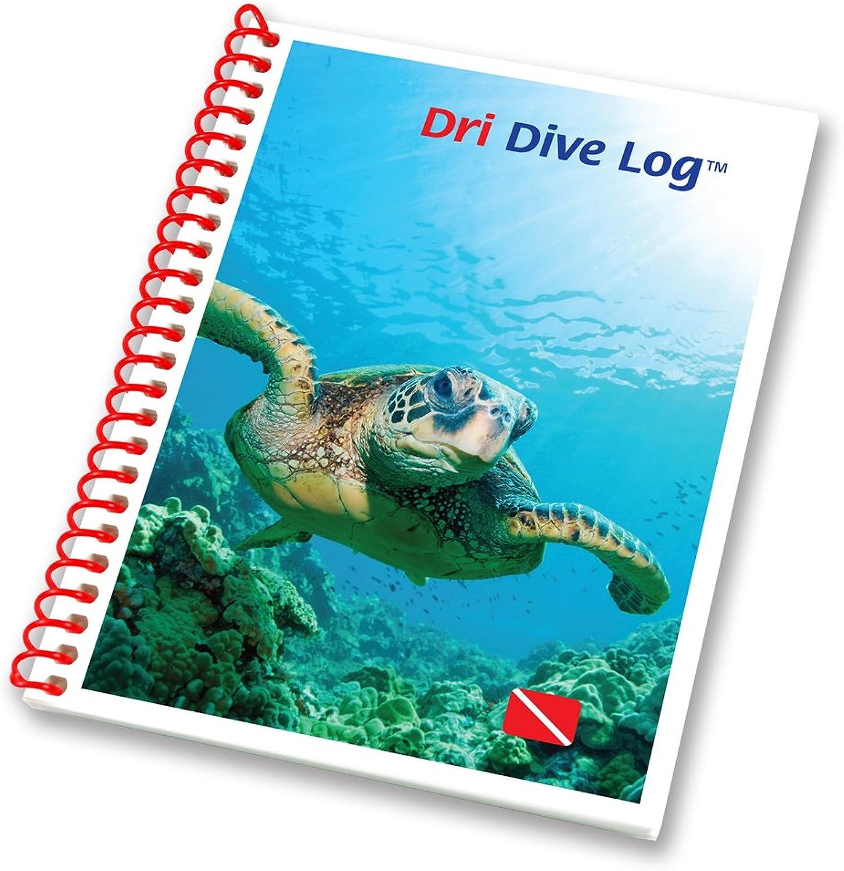 Raging Scuba Wasserdicht Dri Dive Log Book–Traveler Mini Gre
