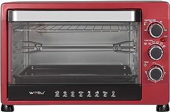 WOLTU BF12rsz Mini Four 32 litres avec minuterie Plateau ramasse-miettes Amovible 100-250 ℃ 1600W,Mini Four pour Pizza Pai...