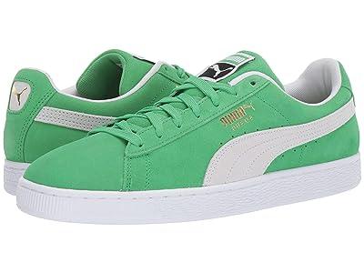 PUMA Suede Classic (Irish Green/Puma White) Shoes