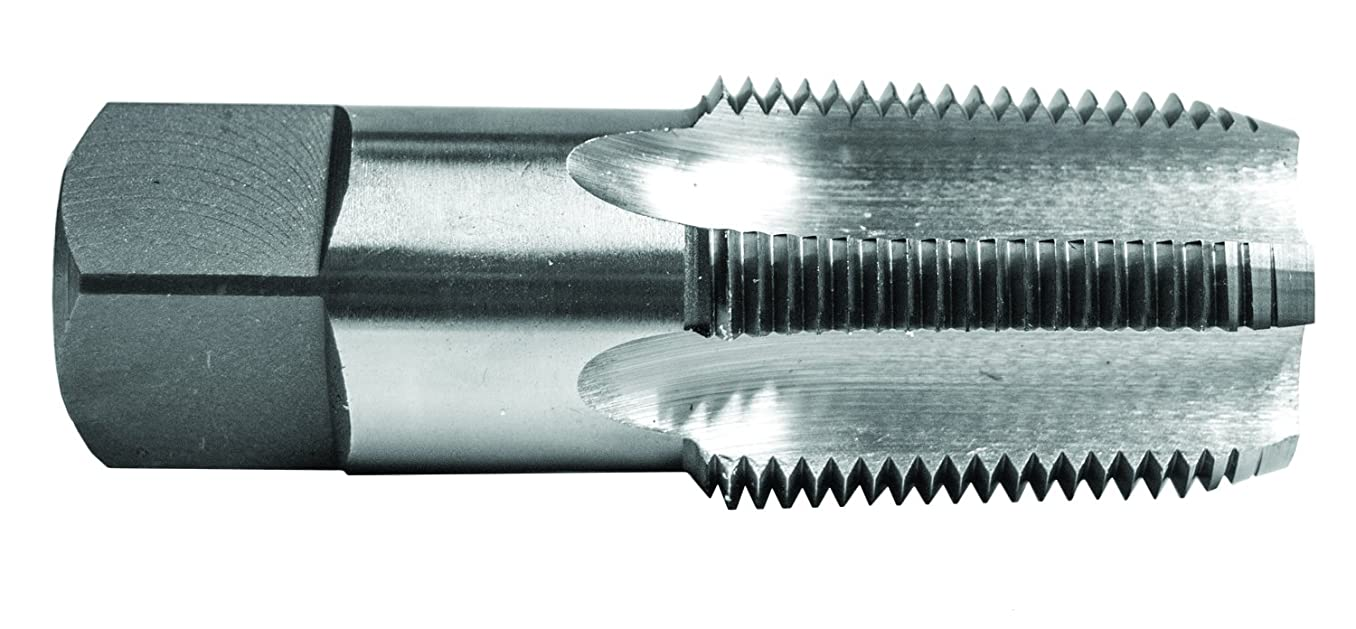 Century Drill and Tool 97205 Plug Hand Pipe Tap, 3/4-14 NPT