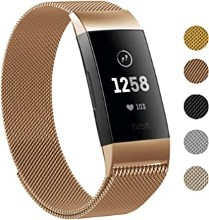 Amazon com: fitbit charge 3 bands metal