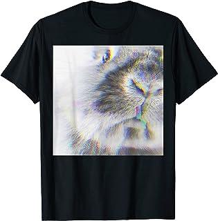RABBIT glitch art Tシャツ