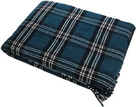 Plaid Blanket 100% Wool St. Andrews Tartan 52