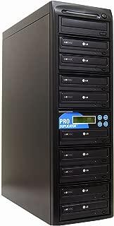 Produplicator 1 to 9 24X Burner M-Disc Support CD DVD Duplicator - Standalone Copier Duplication Tower