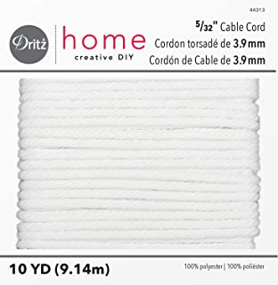 Dritz Home 44313 Cable Cord, 5/32 x 10-Yards, Size 70