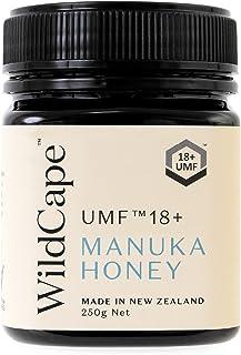 Wild Cape (ワイルドケープ) マヌカハニー UMF15+ MGO500+ 250g ニュージーランドマヌカハニー協会(UMFHA)認定 成分検査成績書取得 (UMF 18+)