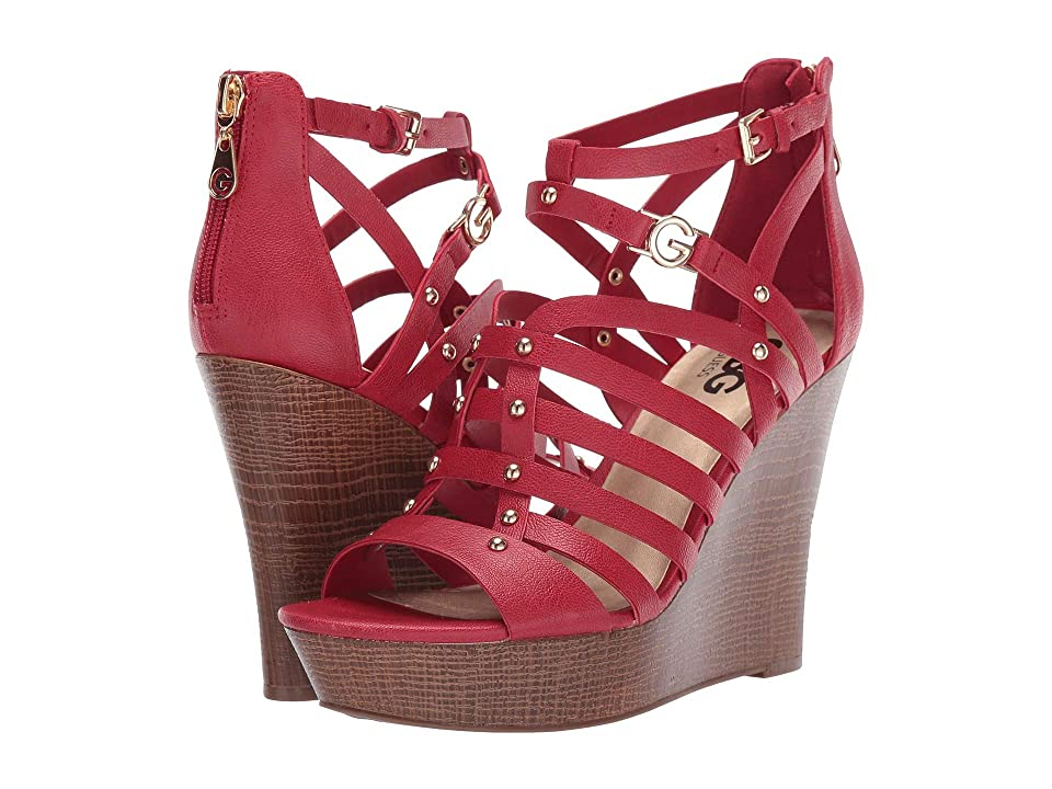 G by GUESS Dezzie (Gingham Red) Women