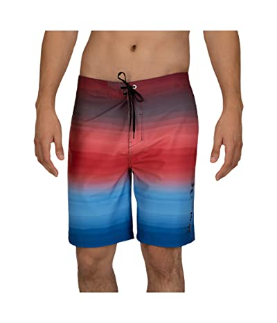 Hurley 20 Phantom Spray Blend Boardshorts (University Red) Men
