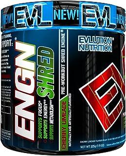 comprar comparacion ENGN SHRED de Evlution Nutrition Polvo Quema Grasa Termogénico Para el Pre Entrenamiento, Energía, Pérdida de Peso, 30 Por...