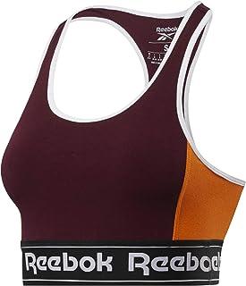 Reebok Te Linear Logo Bralette Soutien-Gorge de Sport Femme