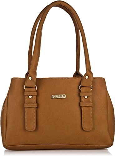 Fostelo Women's Westside Handbag (Tan) (FSB-551)