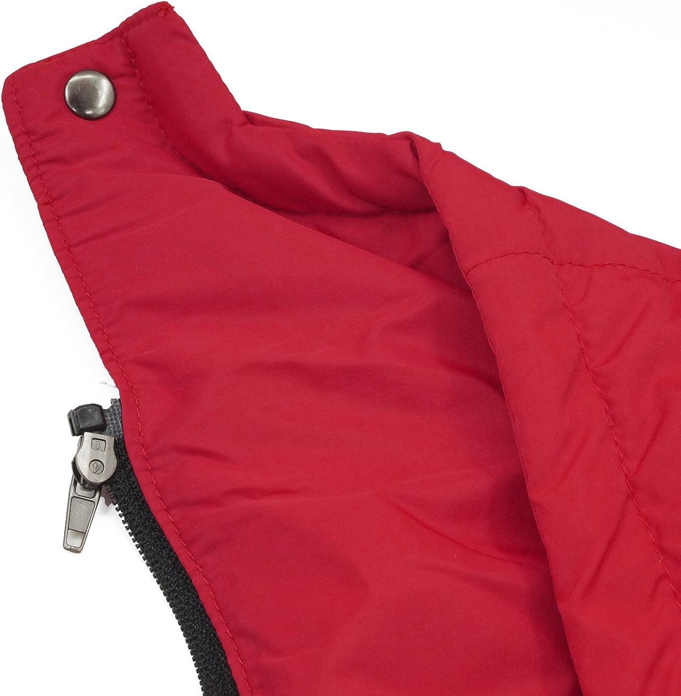 Happy Cherry Kids Winter Padded Vest Puffy Hooded Zipper Up Sleeveless Jacket