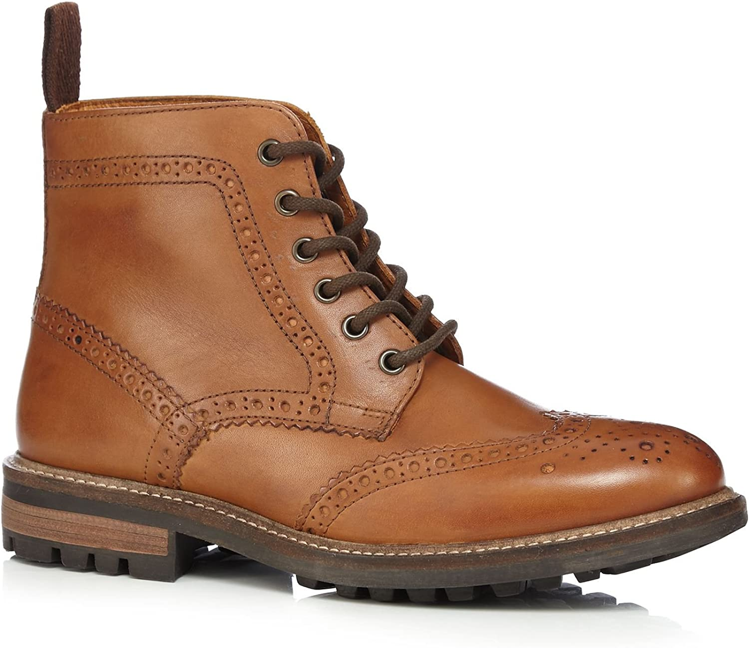 Red Tape Mens Tan 'Devlin' Ankle Boots 10