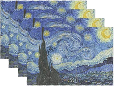 Amazon Com Yochoice Vinatge Van Gogh Art Starry Night With