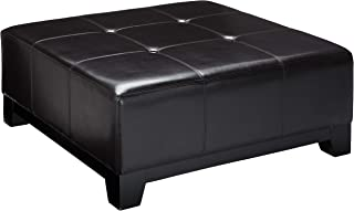 Christopher Knight Home 298532 Avalon Espresso Brown Leather Ottoman Coffee Table