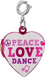 Charm It! Peace, Love, Dance Locket Charm