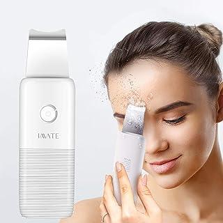 Depurador de piel facial, Extractor de comedones removedor de espinillas, Espátula de piel facial, Para limpieza profunda facial (Blanco)