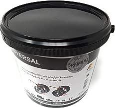 Cera de montaje y desmontaje neum/áticos Pasta de montaje neum/áticos 5kg blanco Pincel de Perfect Equipment