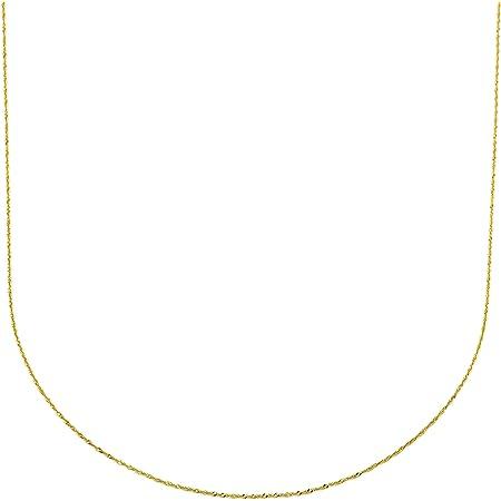 Silver & Steel Cadena Singapur Oro Amarillo 9 k
