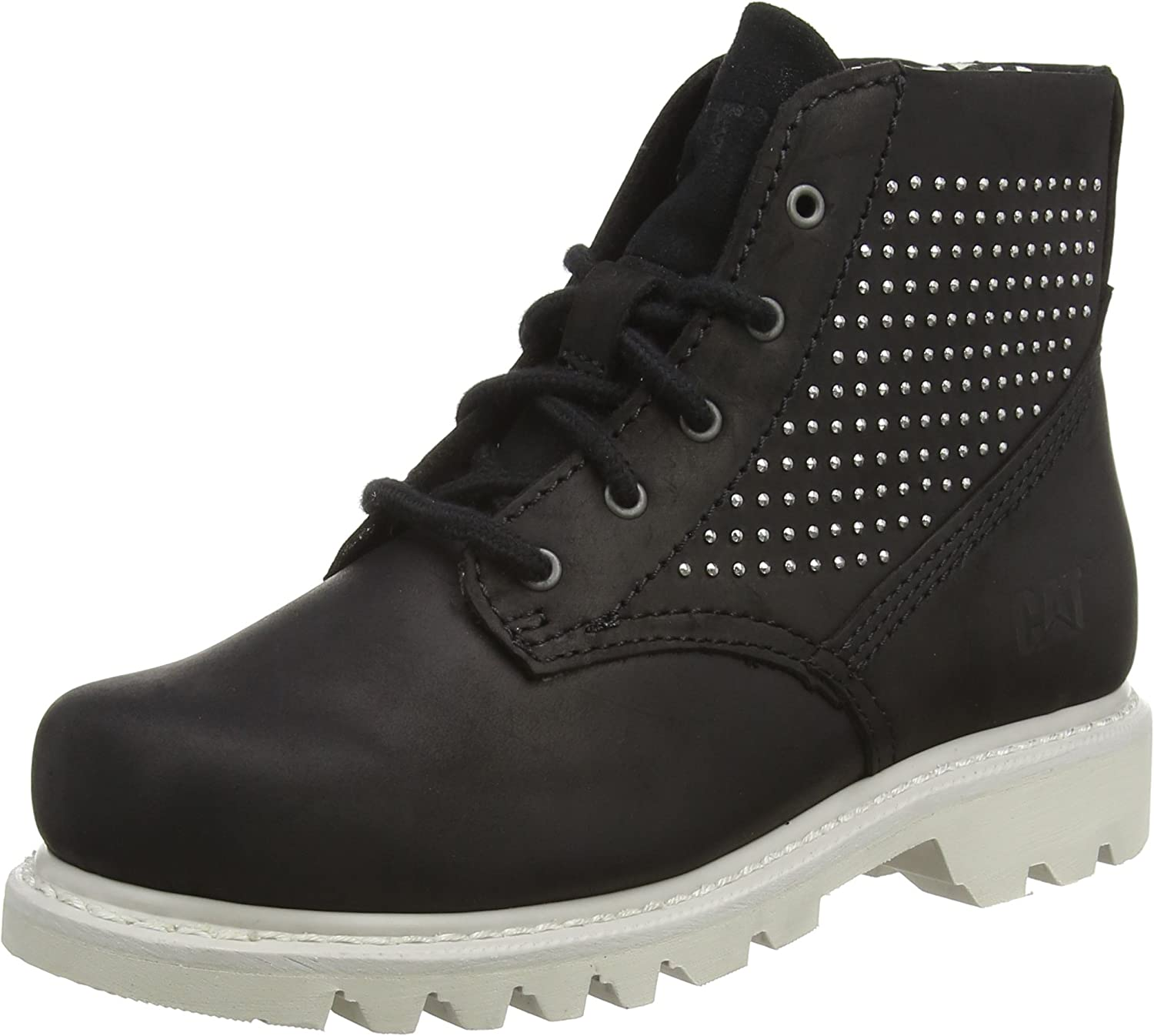 Caterpillar Pixel Black Womens Ankle Boots
