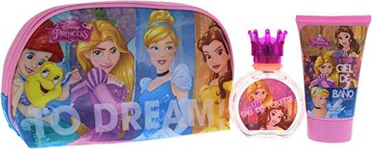 Disney Princess Gift Set for Children (Pack of 3)