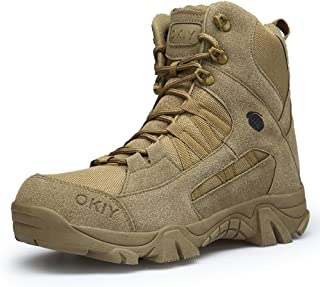 Men's Hiking Boots Backpacking Boots Trekking Boots Climbing High Top Shoes Non Slip Sneakers