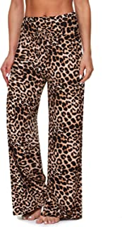 TNNZEET Pajama Pants for Women – Buttery Soft Wide Leg Palazzo Lounge Sleep Pants with Pocket Drawstring for Women.