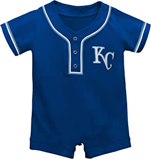 Outerstuff Kansas City Royals Blue Newborn Infants Cool Base Alterante Romper Jersey